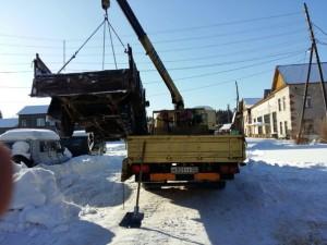 Особенности эвакуации грузовыхмашин